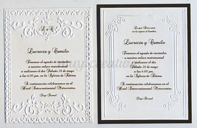 Marcos decorativos para tarjetas de invitación a la graduación