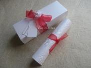 Pergamino con caja