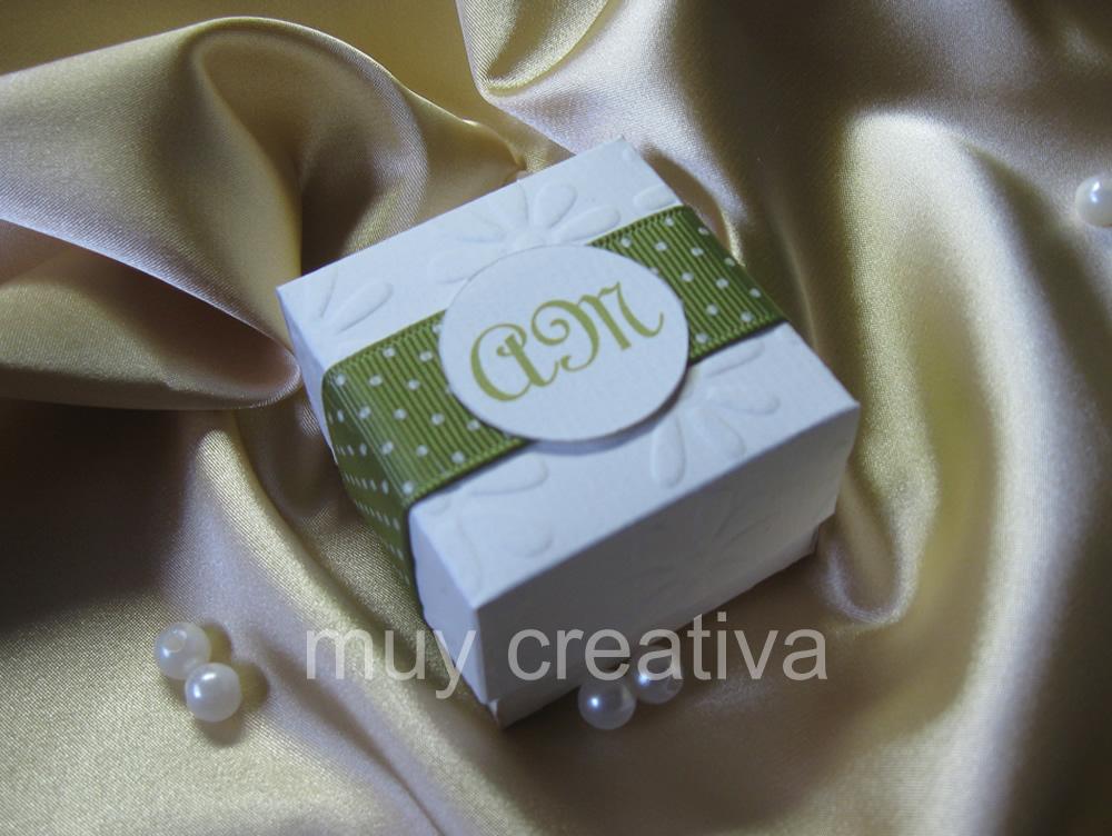 Caja para boda