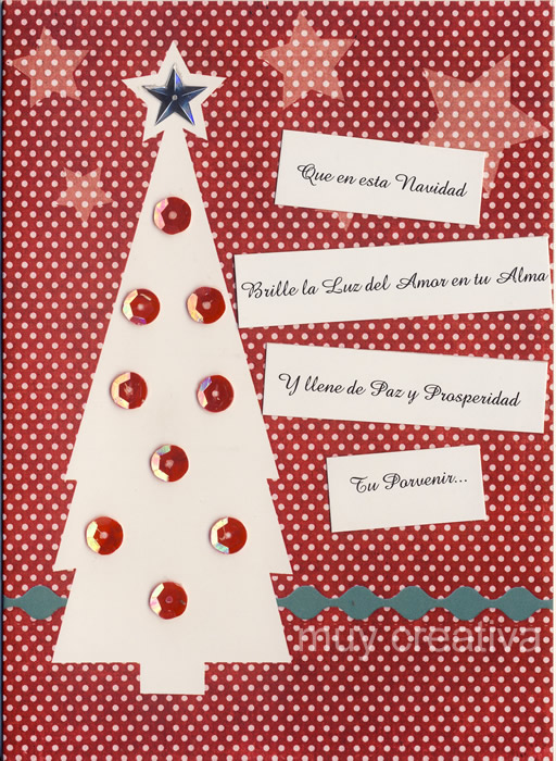 Tarjetas navide as tarjetas y dise os muy creativa - Tarjetas navidenas creativas ...