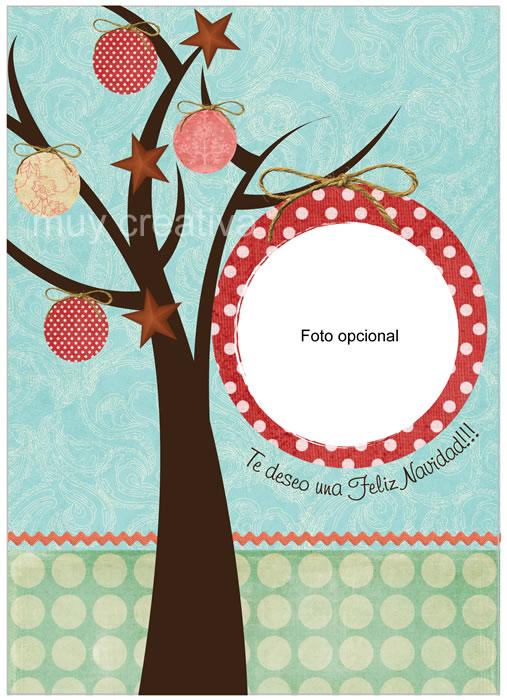 Tarjetas navide as tarjetas y dise os muy creativa - Casas para belenes hechas a mano ...