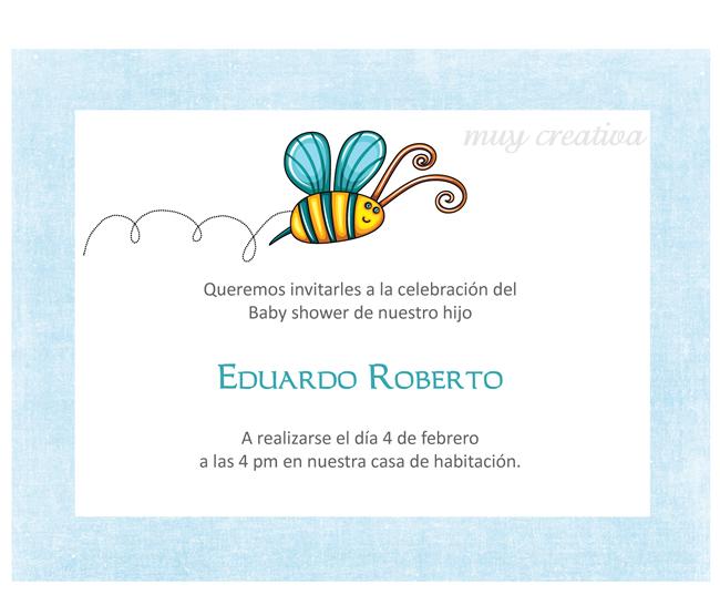 Marco de tarjeta de baby shower - Imagui