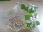 Tarjeta-caja con lazo