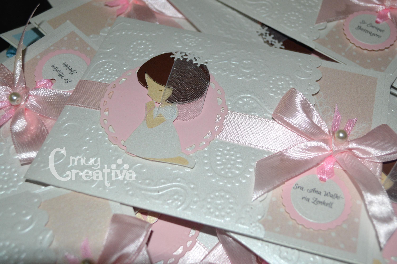 Tarjetas 1era comuni n tarjetas y dise os muy creativa - Como hacer tarjetas para comunion ...