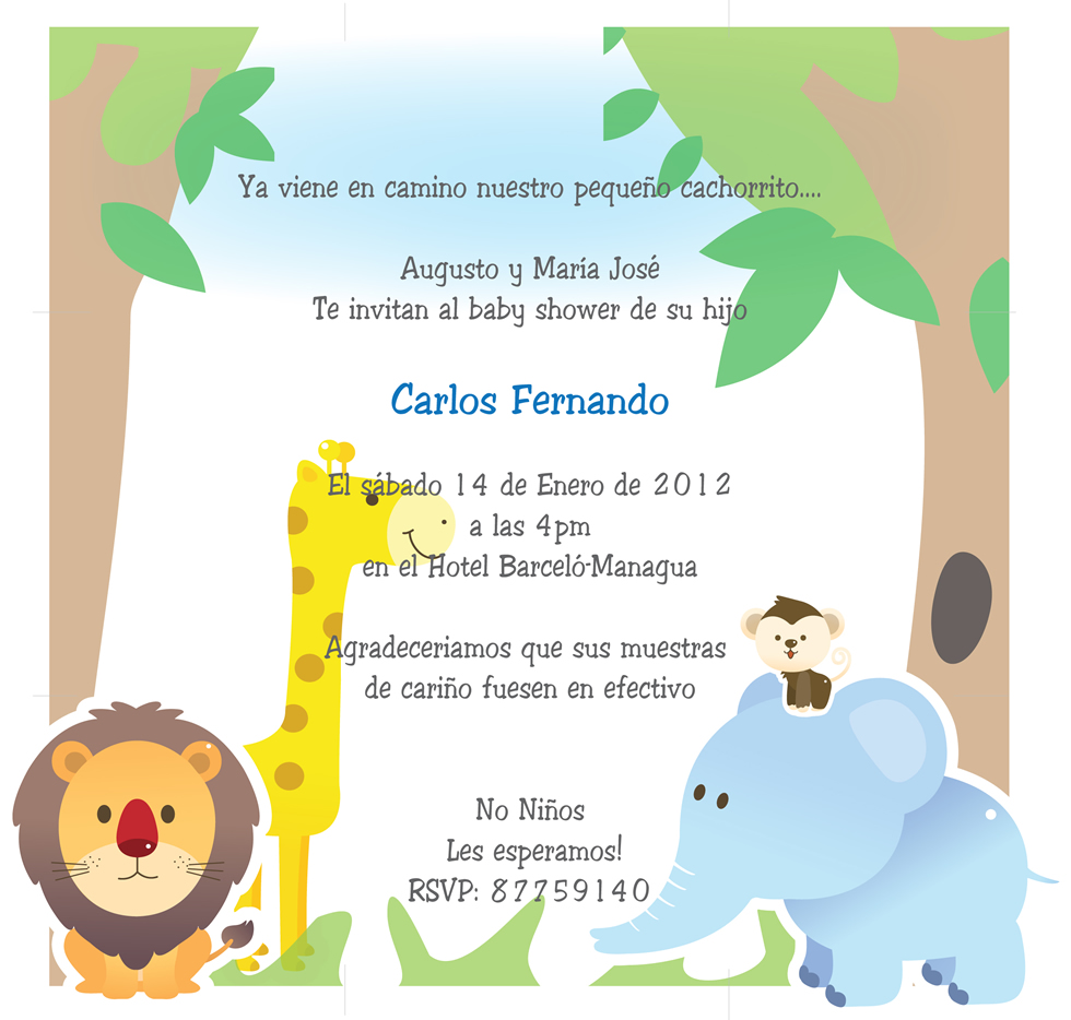 tarjetas para baby shower - Baby Showers