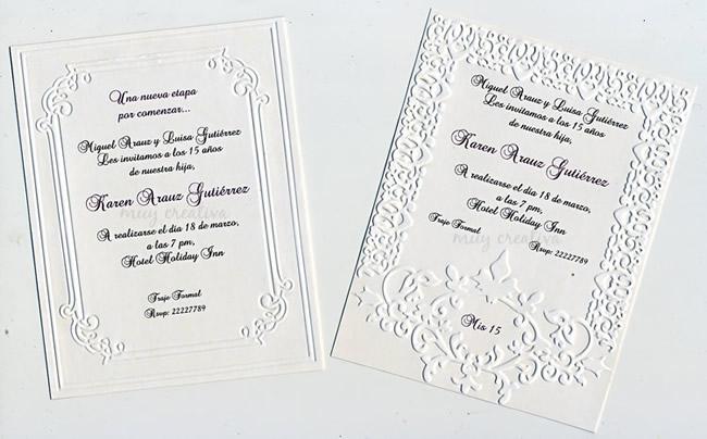 tarjetas-15-relieves   Tarjetas y Diseños Muy Creativa