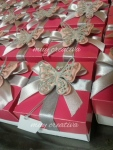 Tarjeta-caja mariposa calada