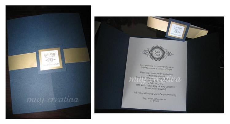 Tarjetas de Graduación | Tarjetas y Diseños Muy Creativa